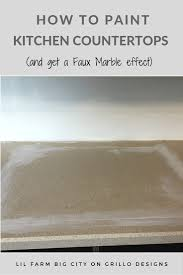 Paint Kitchen Countertop by How To Paint Kitchen Countertops