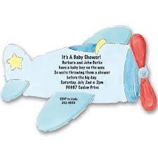airplane baby shower propeller airplane baby shower invitations baby cachet