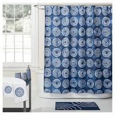 White Shower Curtains Fabric Waterfall Fabric Shower Curtain 70