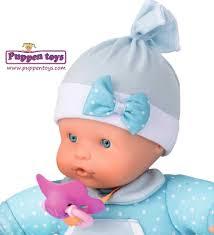 Blandito Muñeco Nenuco Blandito Azul 29cm Famosa Juguetes Puppen Toys