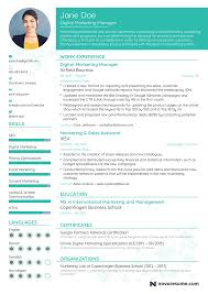 marketing manager resume digital marketing resume marketing manager resume exle