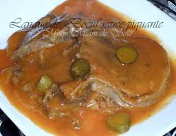 cuisine langue de boeuf langue de boeuf sauce piquante facile ô miam miam de soso