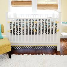urban zoo in gray crib baby bedding by new arrivals