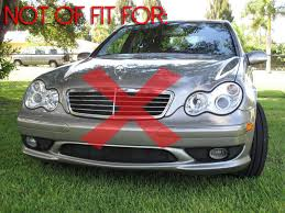 2004 mercedes c55 amg 2006 mercedes w203 amg c55 depo glass oem replacement fog light