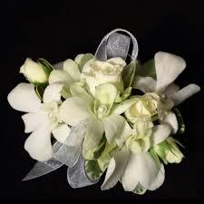 white orchid corsage white orchid corsage in katy tx flowers