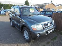 used mitsubishi shogun cars for sale in norfolk gumtree