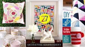 diy for home decor 27 cute diy home decor crafts youtube