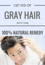 gray hair popular now get rid of gray hair with this 100 natural remedy eliminate