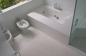 White Bathroom Floor Tile Zampco - Bathroom floor tiles design