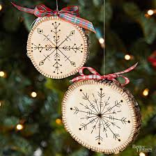 handmade tree ornaments remake nostalgic 50s