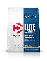 dymatize elite whey protein vanilla 1er pack 1 x 4 5 kg