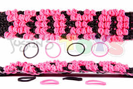name bracelet make images How to make a rainbow loom puffy name bracelet tutorial xoxo jpg
