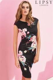 Buy Women U0027s Dresses Lipsy Floral Slim Fit Slimfit From The Next Uk