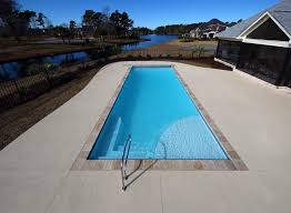new great lakes in ground fiberglass pool by san juan new great lakes fiberglass automatic cover pool by san juan