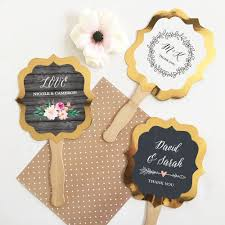 personalized wedding fans personalized wedding fans bisou weddings and events