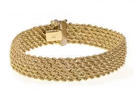 gold mesh bracelet images 14k yellow gold mesh link bracelets jpg