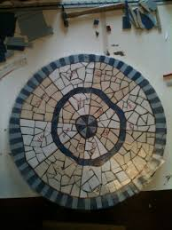 Tile Bistro Table Tracey U0027s Mosaic Bistro Table Tracey Cartledge Artist