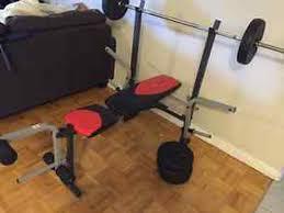 weider weight bench set bench decoration