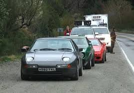 porsche 944 top gear clarkson stoned as top gear crew abandon cars and flee