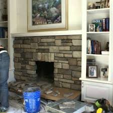 Fireplace Refacing Kits by Decor Reface A Brick Fireplace Fireplace Refacing