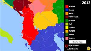 Map Of Albania History Of Albania 1910 2016 Youtube