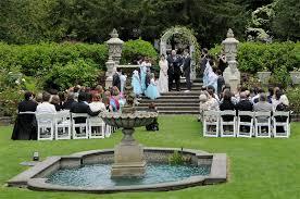 wedding venues tacoma wa outdoor garden wedding venues