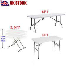 6 ft portable folding table plastic folding table ebay