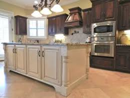 dark cabinets white island for the home pinterest kitchens