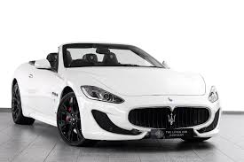 maserati 2017 white used maserati grancabrio cars for sale with pistonheads
