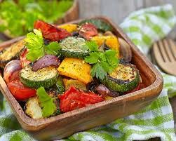 courgette cuisiner recette courgettes et poivrons