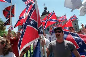 Black Confederate Flag Black Guy On White Power Dead Dear