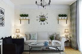 Wallpaper Home Decor Modern 50 Contoh Wallpaper Dinding Ruang Tamu Minimalis Desainrumahnya