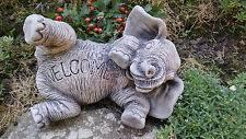 elephants garden statues lawn ornaments ebay