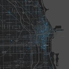 Chinatown Chicago Map by Illinois To Chicago Tweet Maps