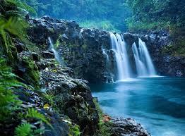 Hawaii Waterfalls images The falls at reed 39 s island go hawaii jpg