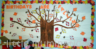 birthday boards illuminations fabulous fall bulletin boards