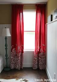 cowboy bedding and how to make lined curtains domestic imperfection