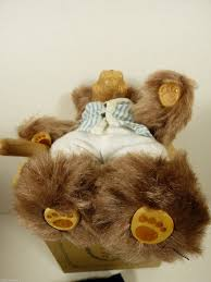 wee whittles robert raikes original toby baseball bear mint box