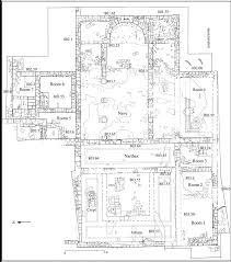 Small Church Floor Plans The Byzantine Eastern Church Of Khirbet Et Tireh