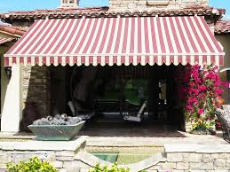 Striped Canopy by Retractable Awnings U2013 Above All Awnings