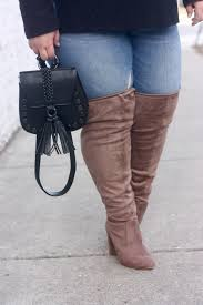 s extended calf size 12 boots these thigh high boots from fashion to figure fit wide calfs and
