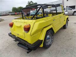 1974 volkswagen thing interior 1974 volkswagen thing for sale classiccars com cc 986664
