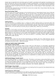 chef de cuisine definition kitchen organization duties and resposibilitis of various chefs