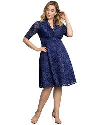 amazon com kiyonna women u0027s plus size mademoiselle lace dress