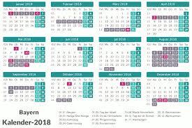 Kalender 2018 Hamburg Feiertage Kalender 2018 Bayern Ausdrucken Ferien Feiertage Excel Pdf