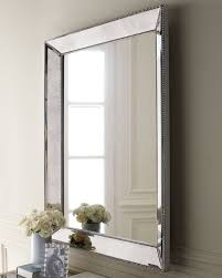 Bathrooms With Mirrors by Unique Square Decorative Mirror For Bathroom With Stone Frame And