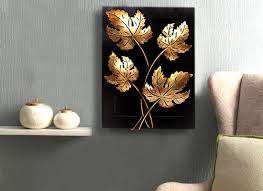 Home Decors Online Shopping Maple Leaf Wall Hanging Handmade Wall Art Decor Home Decor