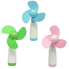 held battery operated fan vococal mini portable flower electric battery operated