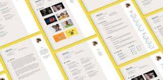 free resume cv template for graphic designer good resume