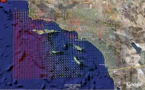 Google Maps San Diego by 3d Visualization Maps For San Diego Wildfire 2007